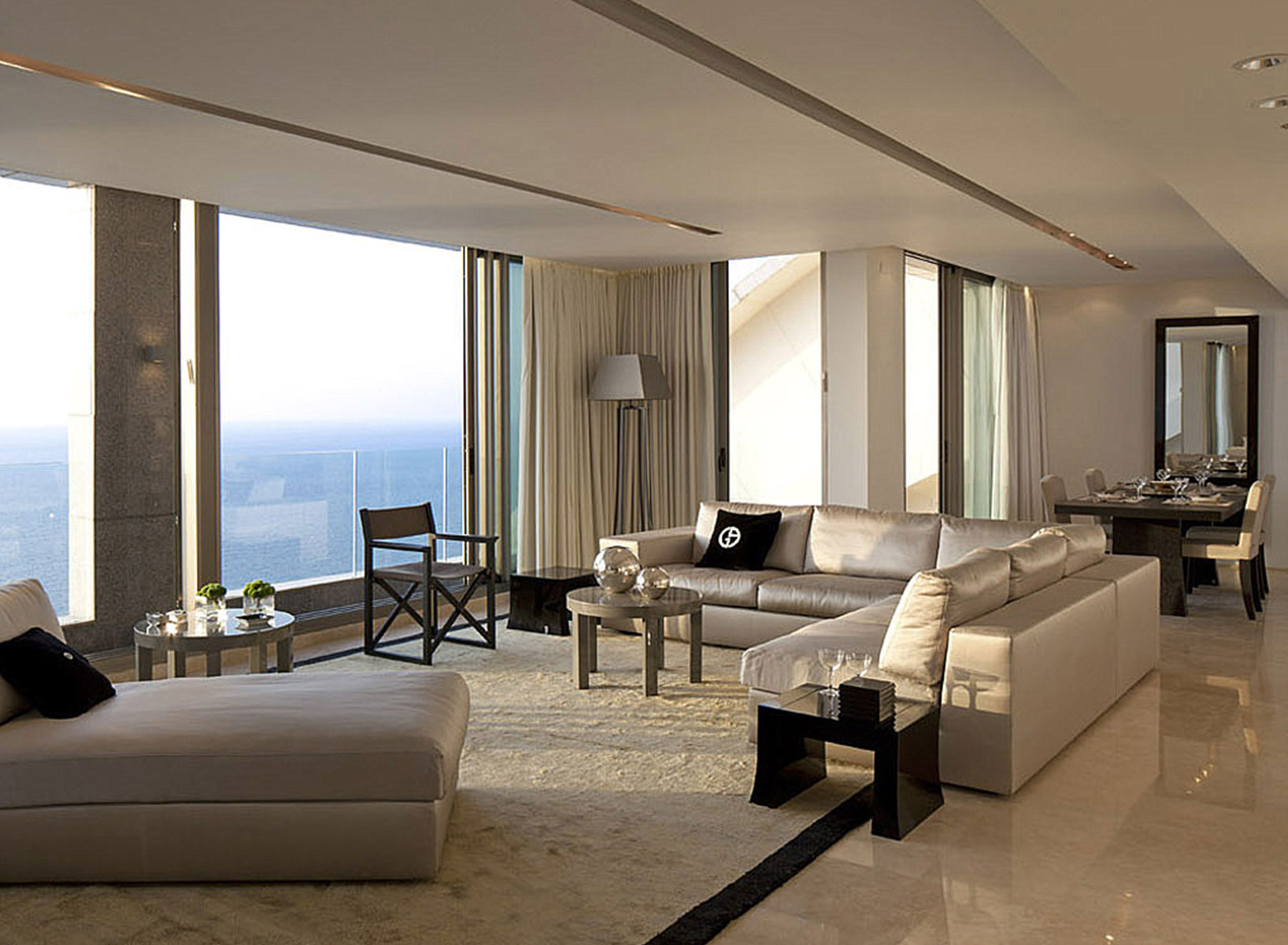 Residences by Armani/Casa Living Room Interior