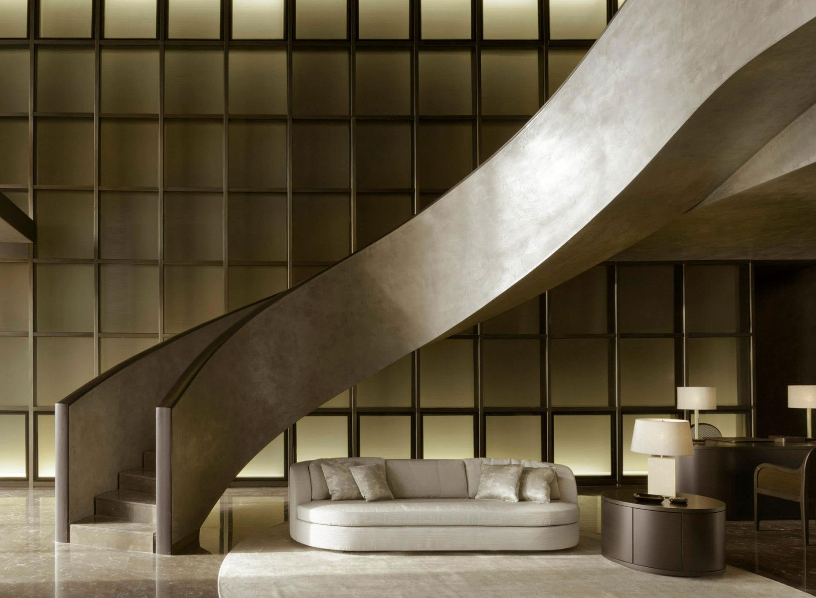 Residences by Armani/Casa Interior Design Loft Stairs