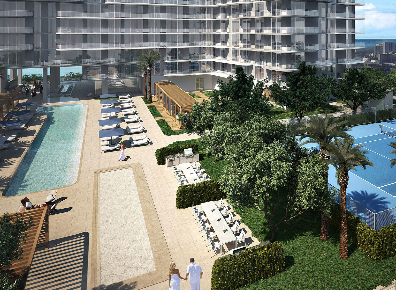 Hyde Midtown Suites & Residences Pool and Amenities