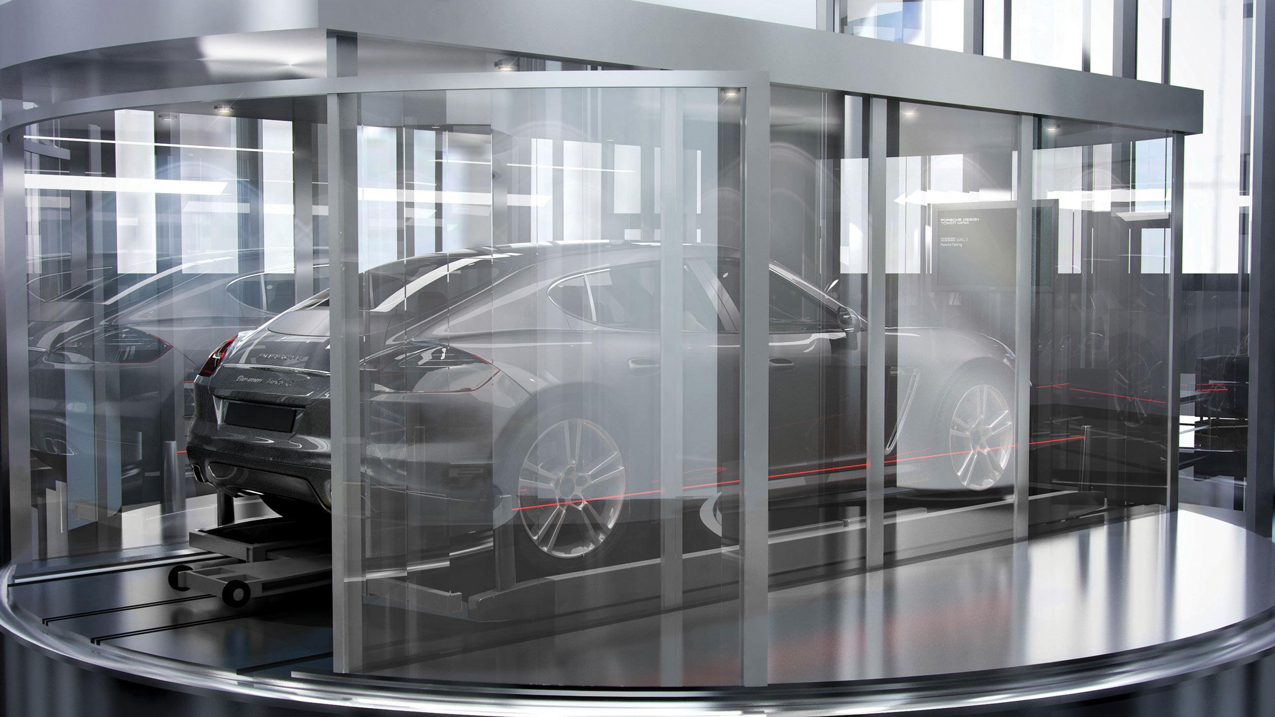 Porsche Design Tower Deervator