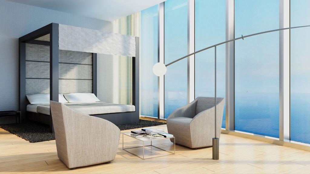 Porsche Design Tower Bedroom